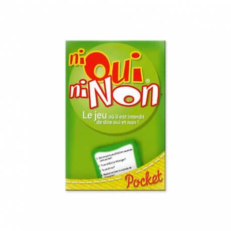 Ni Oui Ni Non - Questions pièges et amusantes - Jeu version Pocket
