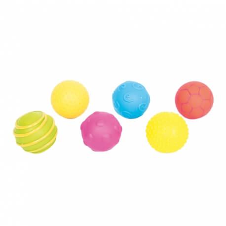 Balles sensorielles – lot de 6