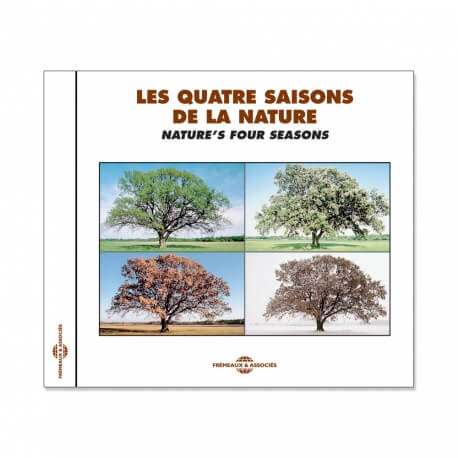 CD Bruits de la nature Les quatre saisons - Musicothérapie relaxation