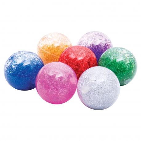 Balles sensorielles paillettes - Stimulation et relaxation des personnes âgées