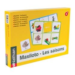 Maxiloto des saisons - jeu de loto et d'association pour personnes âgées