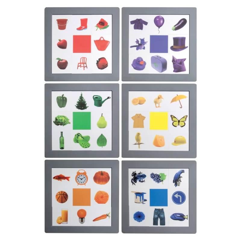 Loto Couleurs - un jeu de loto pour jouer avec les couleurs