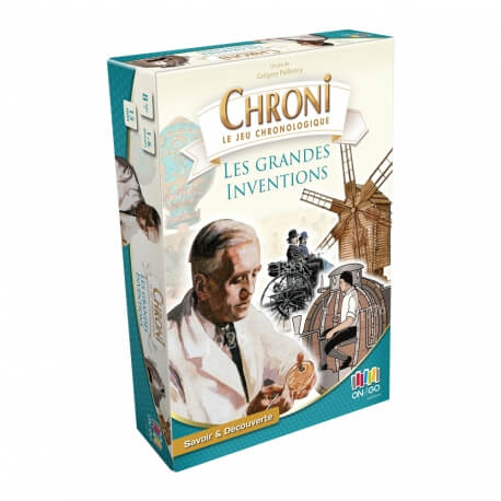 Chroni inventions - jeux  de société pour remettre l'histoire dans l'ordre chronologique