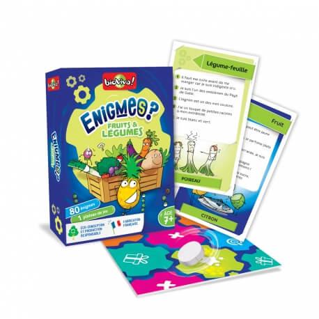 Énigmes Fruits et Légumes - jeu de questions adapté aux séniors