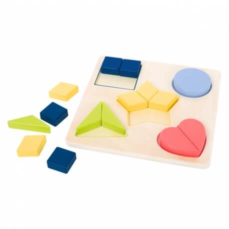 Puzzles jeu en ergothérapie avec des personnes âgées