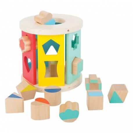 La boîte à formes - pour travailler la motricité fine des doigts