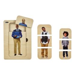Puzzle évolutif homme - pour les personnes ayant des troubles cognitifs