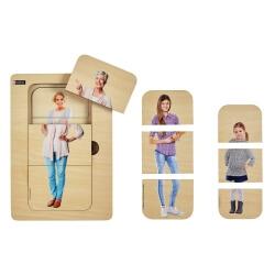 Puzzle évolutif femme - pour les personnes ayant des troubles cognitifs