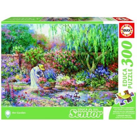 Grand puzzle 300 pièces - adapté aux personnes ayant des problème de vue