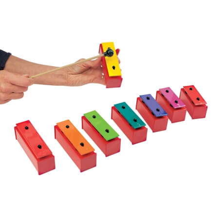 Carillon métallonotes - animation musical en ehpad avec des séniors