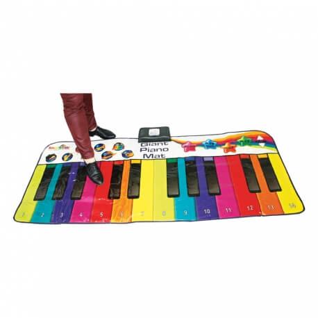 Piano tapis au sol géant - pour jouer avec les pieds - atelier musical