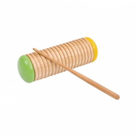 Guiro shaker - instrument de musique à percussion pour atelier musical