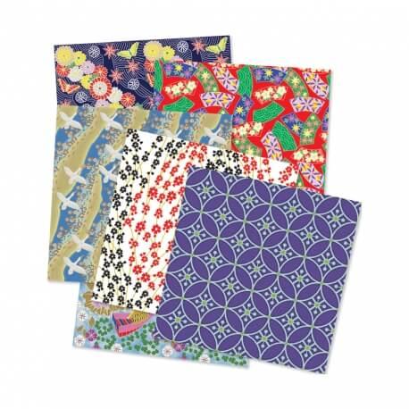 Papier décoratif - pour atelier manuelle, collage avec des séniors