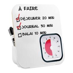 Tableau pour Time Timer individuel - reperage temporel pour séniors