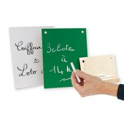 Kit de messages pour calendrier en bois - éphéméride pour ehpad