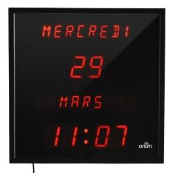 Horloge éphéméride digitale - repérage spatio temporel pour séniors