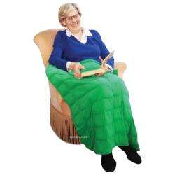Couverture lestée pour personnes âgées