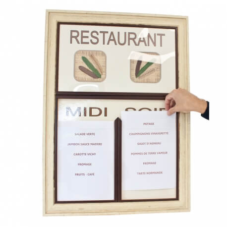 Tableau Restaurant grand cadre