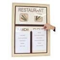 Tableau Restaurant grand cadre (déstockage)