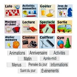 Magnets activités et animations