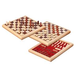 Coffret jeu d'échec et dames