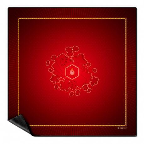 Tapis de jeu cartes - pour jeux de belote, tarot, bridge - Grand modèle