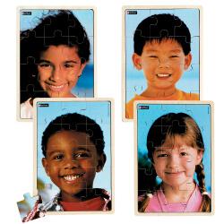 4 Puzzles - Les enfants