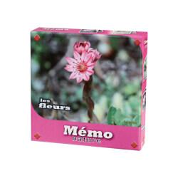 Jeu de mémory Fleurs - jeux de mémoire pour ateliers et activités