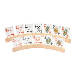 Présentoir à cartes en bois