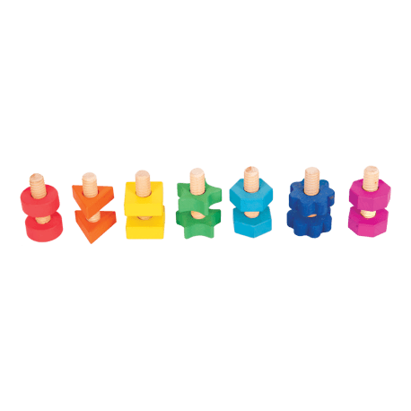 Grandes vis en couleur