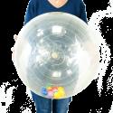 Grande balle transparente