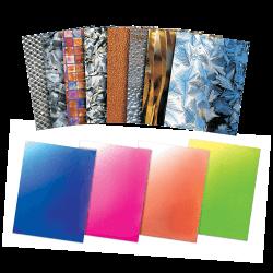 Papier décoratif métallique