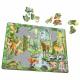 Puzzle avec contour Animaux de la forêt