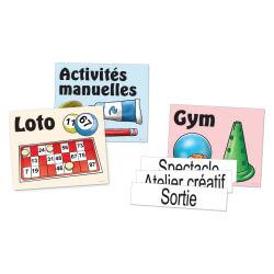 Kit activités magnétique - tableaux d'affichage en maison de retraite et ehpad
