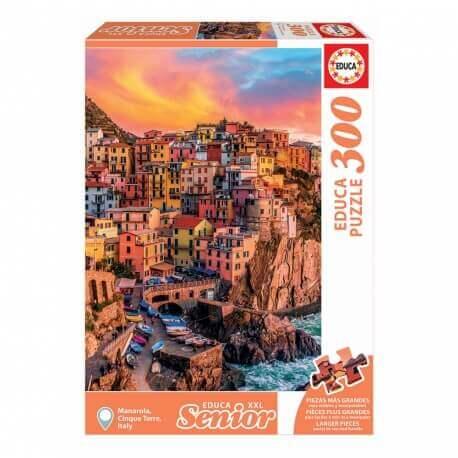 Grand puzzle pour personnes âgées 300 pièces - facile à manipuler