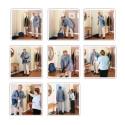 Images séquentielles 6 et 8 images
