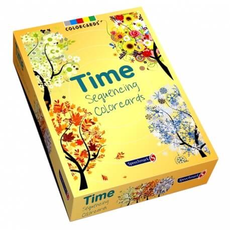 Le Temps qui passe - Imagier chronologique pour exercices cognitifs
