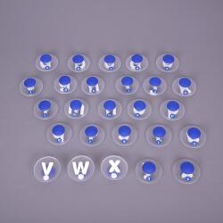 Grands tampons Alphabet minuscule (déstockage)