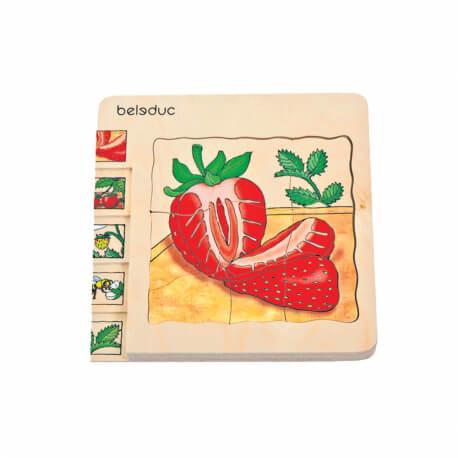 Puzzles évolution fruits