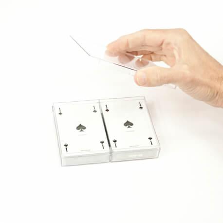 Coffret de 2 jeux de 54 cartes classiques