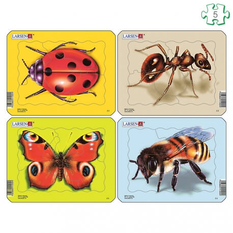 Puzzle 4 insectes