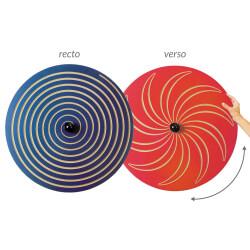 Tableau circulaire Spirale