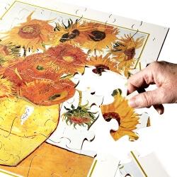 Puzzle Les tournesols de Van Gogh