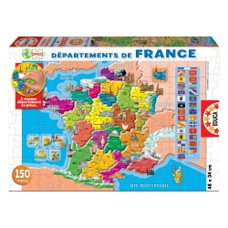 puzzle france et départements