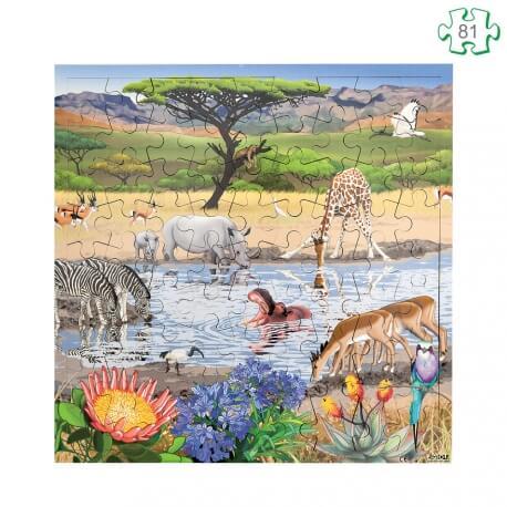 Puzzle La savane