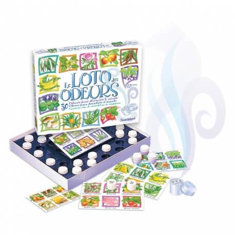 Le loto des odeurs - Stimuler l'odorat des séniors et personnes âgées
