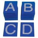 Toucher Plaques tactiles : l'alphabet