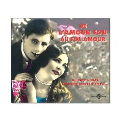 CD Chansons d'amour