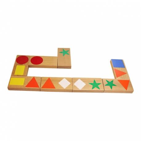 Dominos formes et couleurs