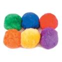 Balles en coton - lot de 6 balles